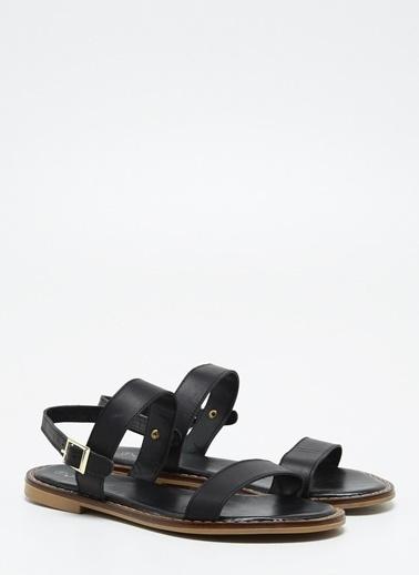 F By Fabrika Kadın Siyah Sandalet MATTY Siyah